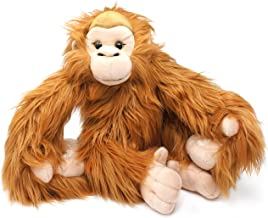 VIAHART Ornaldo The Orangutan Monkey | 19 Inch (with Hanging Arms Outstretched) Stuffed Animal Plush Chimpanzee | by Tiger Tale Toys