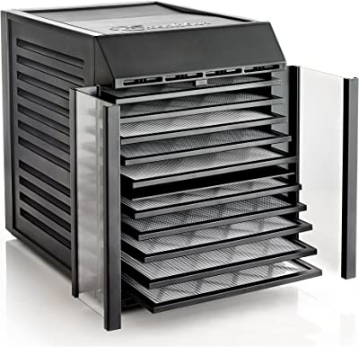 Excalibur RES10 Tray Dehydrator With Digital Controller, Black