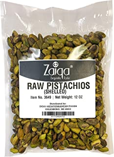 Pistachios with No Shell, Raw & Unsalted Nuts, Pasteurized, California Grown | Tasty & Fresh | Use as Paste, in Ice Cream,...