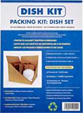 uBoxes Dish Packing Kit, 24 Foam Pouches, 1 Cell Divider