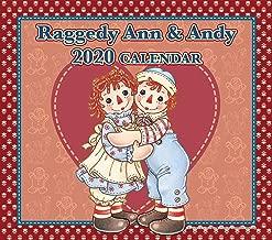【メーカー直販 正規品】 Raggedy Ann&Andy(ラガディ・アン&アンディ) 2020年壁掛カレンダー ジョニー・グルエル 原作絵本 アメリカ キャラクター aa170