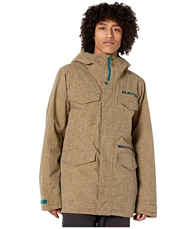 Burton Covert Jacket (Kelp Heather) Men