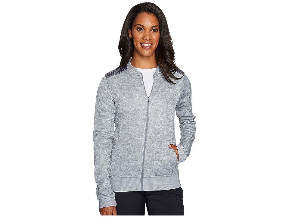 Under Armour Golf UA Storm Sweater Fleece Jacket (True Gray Heather/Graphite/Graphite) Women