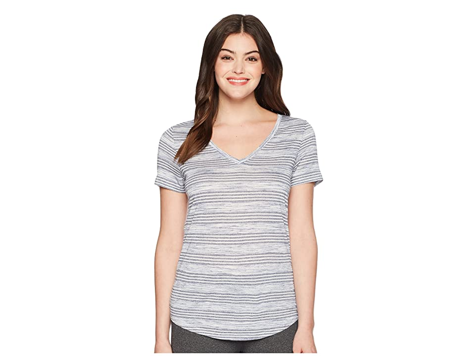 Lole Libia Top (Mirtillo Heather Stripes) Women