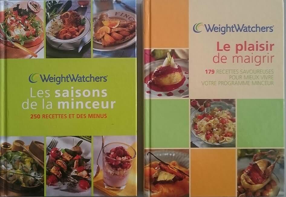 Weight Watchers, Le plaisir de maigrir + Les saisons de la Minceur (2 Livres)