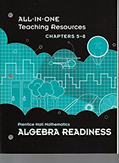 All-in-One Teaching Resources, Chapters 5-8, Prentice Hall Mathematics Algebra Readiness