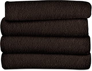 Sunbeam Heated Throw Blanket | Fleece, 3 Heat Settings, Walnut - TSF8TS-R470-33A00