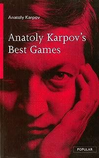 Anatoly Karpov's Best Games (Batsford Chess Library)