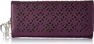 Butterflies Purple Synthetic Women's Wallet (BNS 2331 PPL)