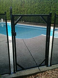 "WaterWarden Child Safety Fencing, Easy DIY Installation, WWG301, 5' (60"" H), Black"