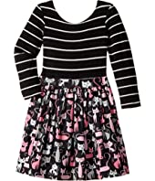 fiveloaves twofish - Paris Kitty Abbie Dress (Toddler/Little Kids)