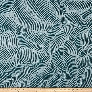 Robert Allen Home Tropic Ferns Chenille Jacquard Fabric, Jasper, Fabric By The Yard