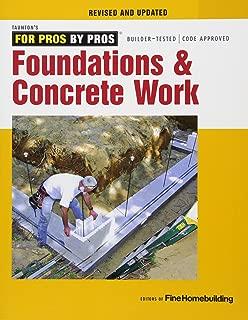 Best concrete foundation work Reviews