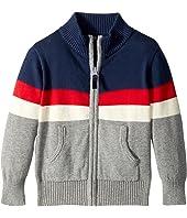 Toobydoo - Color Block Zip Sweater (Infant/Toddler/Little Kids/Big Kids)