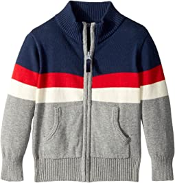 Toobydoo - Color Block Zip Sweater (Infant/Toddler/Little Kids/Big Kids)
