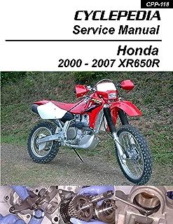 2000-2007 Honda XR650R Service Manual