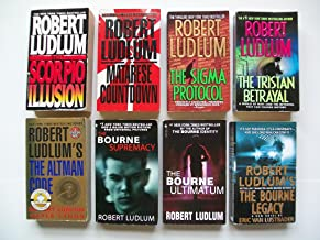 Ludlum (8 Set) Scorpio Illusion; Matarese Countdown; Sigma Protocol; Tristan Betrayal