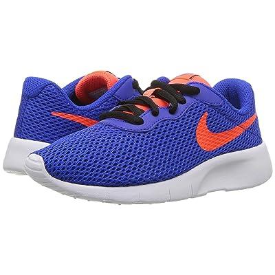 Nike Kids Tanjun (Little Kid) (Racer Blue/Total Crimson/Black/White) Boys Shoes