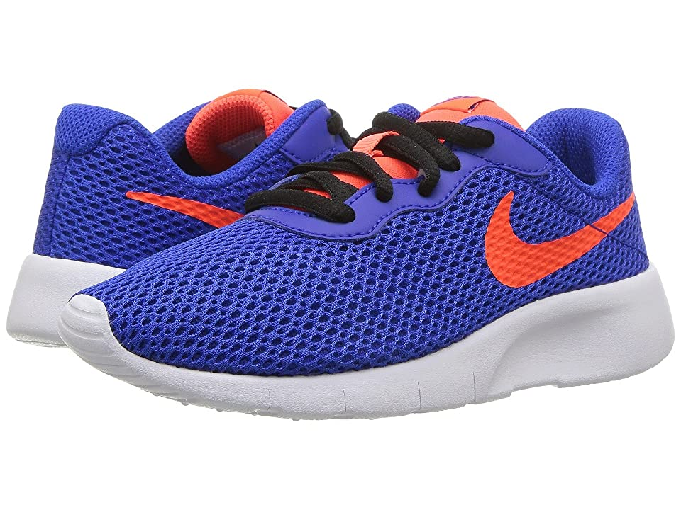 Nike Kids Tanjun (Little Kid) (Racer Blue/Total Crimson/Black/White) Boys Shoes