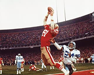 "DWIGHT CLARK SAN FRANCISCO 49ERS ""THE CATCH"" 8X10 SPORTS ACTION PHOTO (BB-1)"