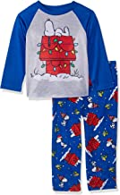 Peanuts Kids' Snoopy Holiday Lights Family Sleepwear Collection