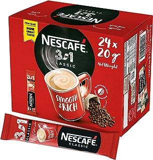 Nescafe Classic 3in1 Instant Coffee Mix Sachet, 24 Sticks/20g