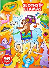 Crayola Colouring Books for Kids, Sloths Love Llamas Colouring Activity Book, 96 Pages of Colourable Fun, Includes Puzzles...