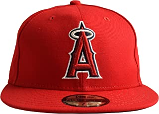 finest selection 4a2cf dfe4b New Era 59FIFTY Los Angeles Angels of Anaheim 2018 Authentic Collection On Field  Game Cap