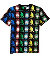 Dolce & Gabbana Kids - Multi Monkeys T-Shirt (Big Kids)