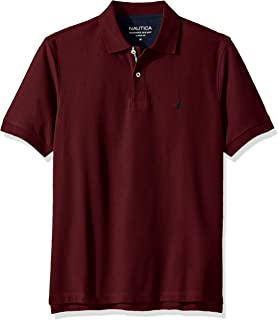5d230f29 Nautica Men's Classic Short Sleeve Solid Polo Shirt
