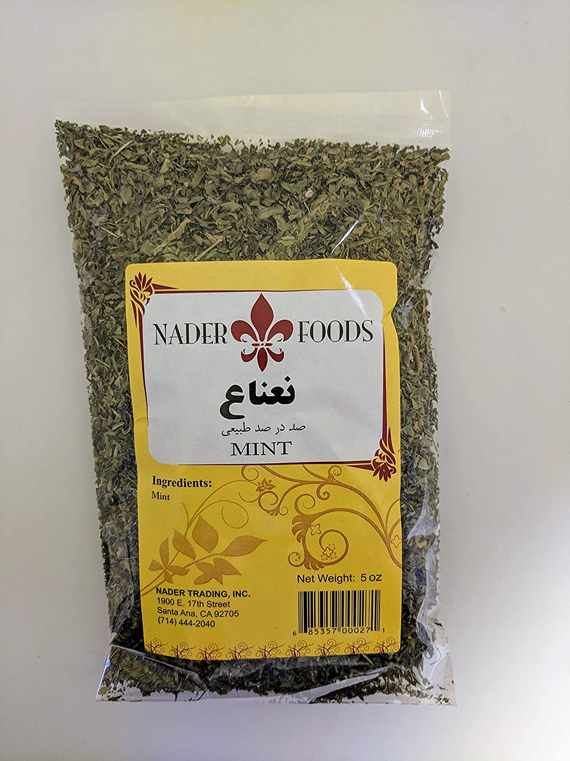 Nader Foods Mint Tucson Mall oz 5 Max 70% OFF Leaves