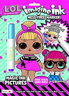 LOL Surprise Imagine Ink Magic Ink Coloring Book Bendon 46564