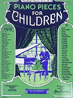Piano Pieces for Children (Everybody's Favorite Seri