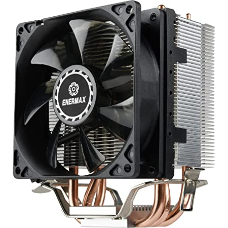 Enermax ETS-N30 ll Compact Intel/AMD CPU Cooler with Direct Heat Pipes, ETS-N31-02