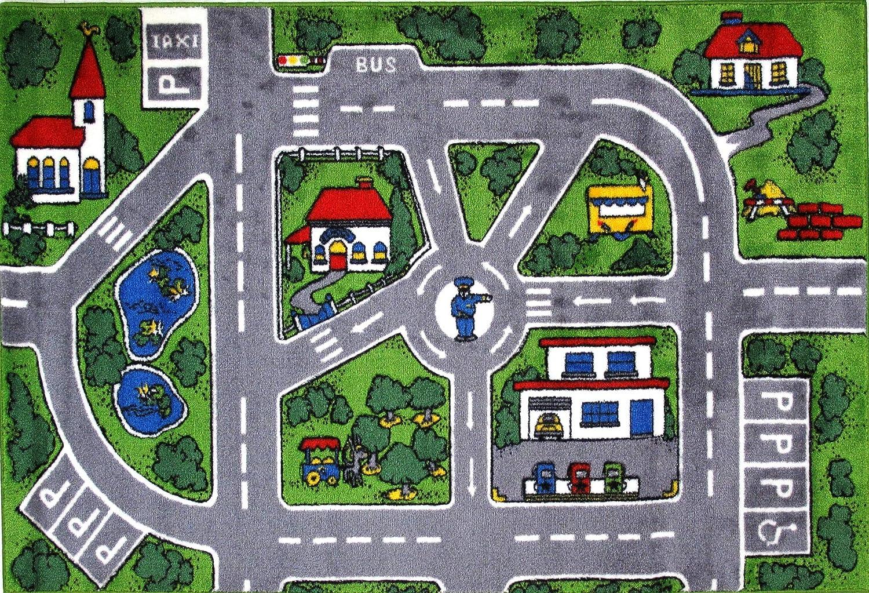 Fun Rugs Area Rug Multi-Colored 31 x 47