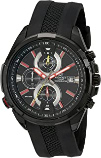Casio Men's EFR-536PB-1A3VCF Neon Illuminator Black Watch
