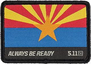 5.1100000000000003 Arizona Flag Patch 812009991SZ, Multi, 1 Size