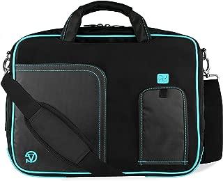 Blue Trim Laptop Bag for Dell Latitude, Inspiron, Precision, XPS, Alienware, Vostro, G3 G5 G7 Gaming 14
