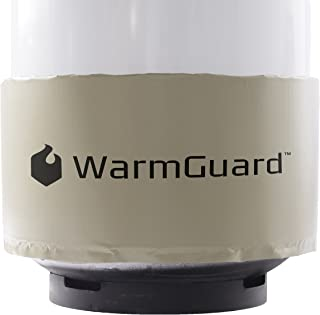 WarmGuard WG420 Insulated Band Style Gas Cylinder Warmer - Propane Heater, Fits 420 lb Gas Tanks, Fixed Internal Thermostat Max Temp 90 F