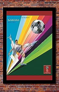 "Prints USA 2018 FIFA World Cup Russia Poster Soccer Tournament | Samara | 13"" x 19"""