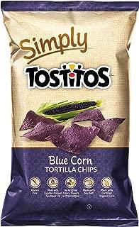 Simply Tostitos Blue Corn Tortilla Chips, 9 oz
