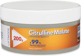 LiftMode L-Citrulline DL-Malate 2:1 – Supports Energy Levels – Improves Exercise – Promotes a Healthy Circulatory System -...