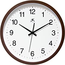 Infinity Instruments Walnut Finish Clock, Walnut