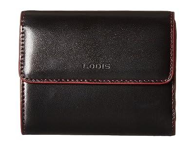 Lodis Accessories Audrey RFID French Purse (Black RFID) Handbags