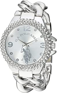 Women's Analog-Quartz Watch with Alloy Strap, Silver, 10...