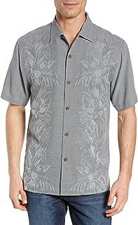 Kamari Border Silk Camp Shirt