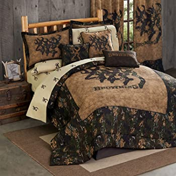 Queen Size Kimlor Mills Browning Country Comforter Set