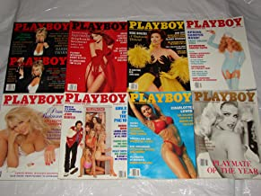 1993 Playboy Magazines, 8 Issues, Jan-July+Oct, Good Cond!