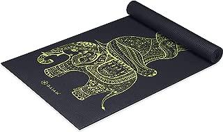 Gaiam Yoga Mat - Premium 6mm Print Extra Thick Exercise &...