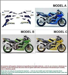 2 Tono Ametista Ruote Moto Cerchione Decalcomanie Accessorio Adesivi per Kawasaki Z650